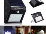 Best solar Powered Motion Security Light Discount 20 Led solar Power Spot Light Motion Sensor Outdoor Garden