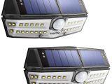 Best solar Powered Motion Security Light Litom solar Lights Outdoor 4th Generation 30 Led solar Motion