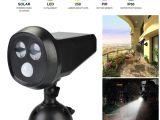 Best solar Powered Motion Security Light Tamproad Outdoor Wireless solar Powered Motion Sensor Detection Led