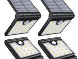 Best solar Powered Motion Security Light Vmanoo Foldable solar Lights Wireless 14 Led Super Bright Motion
