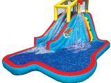 Best Water Slides for Backyard Amazon Com Banzai Spring Summer toys Slide N soak Splash Park