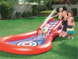 Best Water Slides for Backyard Amazon Com H2ogo Splash Play Cannon Ball Water Slide toys Games
