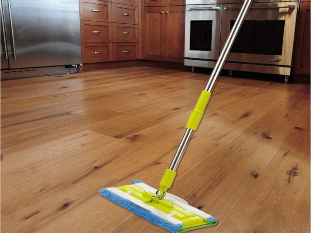 Best Way To Clean Hardwood Floors Mop Amazon Com Senmo Microfiber