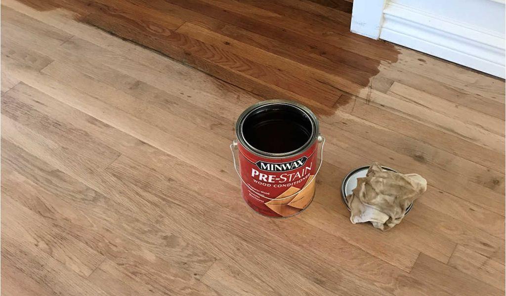 Best Wood Floor Crack Filler Adventures In Staining My Red Oak