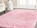 Big Pink Fur Rug Classic Shag Ultra Pink 4 Ft X 6 Ft area Rug Products
