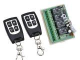 Bitplay Bang Remote Lamp Geekcreita 12v 4ch Channel 433mhz Wireless Remote Control Switch