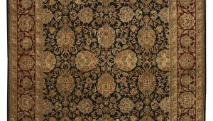 Black and Beige oriental Rugs Eorc Hand Knotted Wool Black Traditional oriental Jaipur Rug