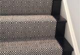 Black and Beige Runner Rug Look at This Beautiful Custom Stair Runner Black Diamond by