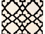Black and White Aztec Print Rug istanbul Black White Lattice Flatweave Rug Flatweave Rugs