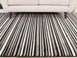 Black and White Striped Accent Rug Black White Striped Hallway Runner Rug Sardinia Hallway Runner