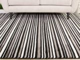 Black and White Striped Runner Rug Black White Striped Hallway Runner Rug Sardinia Hallway Runner