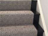 Black and White Striped Runner Rug Look at This Beautiful Custom Stair Runner Black Diamond by