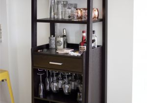 Black Bar Cart with Wine Rack Mobile Bar Liquor Pinterest Mobile Bar Bar and Bar Carts