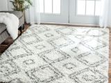 Black Fuzzy Rug Target Inspired by Moroccan Berber Carpets This Trellis Shag Rug Adds
