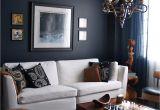 Blue and Silver Living Room Designs 15 Beautiful Dark Blue Wall Design Ideas