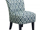 Blue and White Accent Chair Target Threshold™ Rounded Back Chair Ikat Blue Tar
