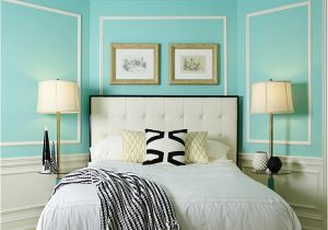Blue Bedroom Paint Colors Discovering Tiffany Blue Paint In 20 Beautiful Ways