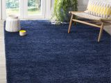 Blue Furry Rug Safavieh Milan Shag Navy Blue Rug 5 1 Square Sg180 7070 5sq