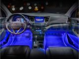 Blue Interior Led Lights for Cars Ledglow 4pc Blue Led Car Interior Underdash Lighting Kit Gadgets