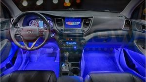 Blue Interior Led Lights for Cars Ledglow 4pc Blue Led Car Interior Underdash Lighting Kit Gadgets