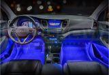 Blue Led Interior Lights for Cars Ledglow 4pc Blue Led Car Interior Underdash Lighting Kit Gadgets