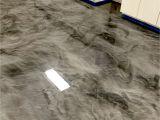 Blue Metallic Epoxy Floor Metallic Epoxy Floor Coatings by Sierra Concrete Arts Interior