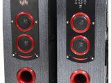Bluetooth Floor Standing Speakers Buy P Tech T 12000 Floorstanding Speakers Black Online at Best