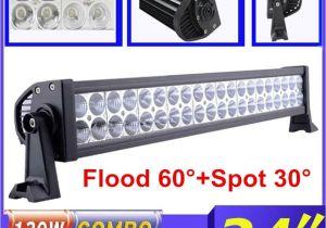 Boat Running Lights 22 Inch 120w Car Led Light Bar Combo Beam Offroad Work Light for Car