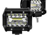 Boat Running Lights Car Led Lights 4 Inch Running Lamp 60w 6000k Super Bright Spot Beam
