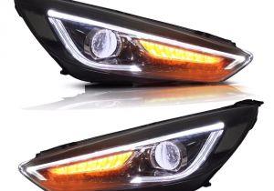 Boat Running Lights Vland Car Styling Headlights Fit ford Focus Headlight 2015 2016 2017