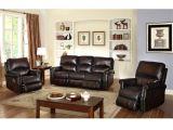 Bob S Discount Furniture Recliner Chairs Shop Crestview Dark Brown top Grain Leather Lay Flat Reclining sofa