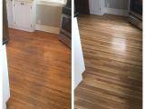 Bona Floor Products before and after Floor Refinishing Looks Amazing Floor