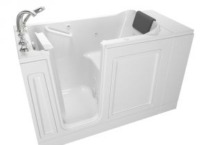 Bootz Bathtubs American Standard Exclusive Series 48 In X 28 In Left Hand Walk In