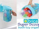Brica Baby Bathtub Brica Super Scoop Bath toy organizer