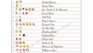 Bridal Shower Prayer Bridal Shower Emoji Game Fun Unique Games Diy Pdf Wedding