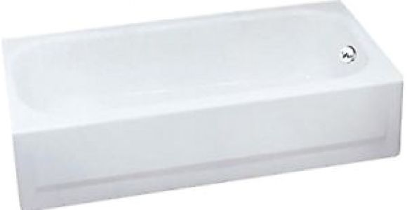 Briggs Bathtubs Porcelain Briggs 2504 Pendant V White R H Slip Resistant Porcelain