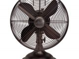 Bronze Oscillating Floor Fan Shop Hunter 12 Inch Oil Rubbed Bronze Finish Retro Fan Free