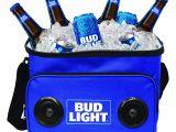 Bud Light 24 Pack Amazon Com Bud Light soft Cooler Bluetooth Speaker Portable Travel