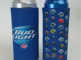 Bud Light 24 Pack Lot Of 2 Bud Light Beer Nfl 24 25 Oz Tall Can Koozie 6 99 Picclick