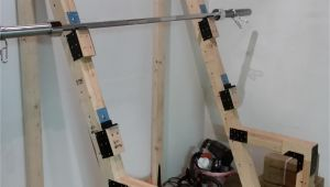 Build Your Own Wooden Squat Rack Diy Squat Rack Garage Ideas Pinterest Squat Bench and Homemade