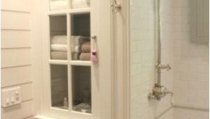 Built In Bathtub Designs White Bathroom Linen Cabinet Foter