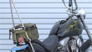 Canadian Tire Motorcycle Rack Biltwell Bag Exfil 7 Od Green at Thunderbike Shop