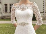 Cap Sleeve Bridesmaid Dresses Floor Length Scalloped Neckline Half Sleeve Floor Length A Line Lace Up Dress