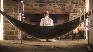Carbon Fiber Hammock Bathtub the Suspended Hammock Bath Made Of Carbon Fibre the