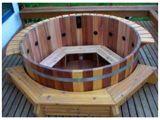 Cedar Outdoor Bathtub 8 Person Cedar Hot Tub