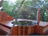 Cedar Outdoor Bathtub Cedar Round Hot Tub with Deck 48 Awesome Garden Hot Tub