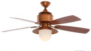Ceiling Fan with Night Light Hampton Bay Copperhead 52 In Indoor Outdoor Weathered Copper