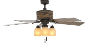 Ceiling Fans with Regular Light Bulbs Hampton Bay Ellijay 52 In Indoor Outdoor Natural Iron Ceiling Fan
