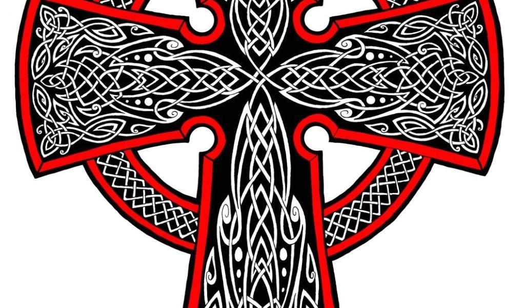 Celtic Cross Garden Art Celtic Cross Drawings Celtic Cross