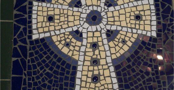 Celtic Cross Garden Art Celtic Cross Mosaic Projects by Amadita Pinterest Mosaic
